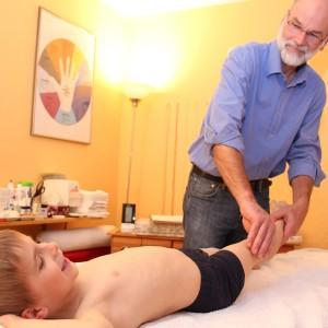 Bild Kinder-Akupunktur Shonishin